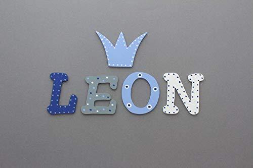 Tolle Holzbuchstaben für Kinderzimmer-Tür, Prinz