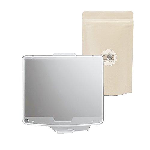 BM10 - Protector de pantalla de plástico transparente para Nikon D90 (tipo BM10), color transparente