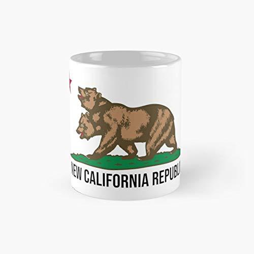 Taza de café con diseño de New California Republic de NCR Fallout Fan Art clásica, el mejor regalo divertido tazas de café de 325 ml