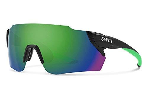 Smith Attack MAG Max Sunglasses Matte Black Reactor/ChromaPop Green Mirror