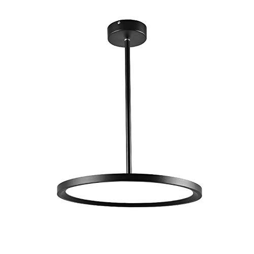 HE-XSHDTT Moderne LED-Pendelleuchten Leuchte Runde Decke Runde Deckenleuchte Modische Moderne minimalistische Teleskopausleger-Hebelampen High-End-Restaurant-Theke (Bule),Monochrome,40CM 36W