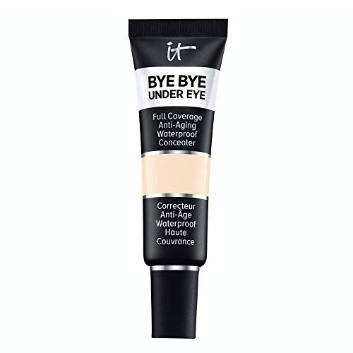 IT Cosmetics Bye Bye Under Eye, 10.5 Light (C) - Full-Coverage, Anti-Aging, Waterproof Concealer - Improves the Appearance of Dark Circles, Wrinkles & Imperfections - 0.4 fl oz