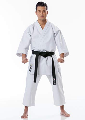 Tokaido Unisex– Erwachsene Kata Master Japan Style Karateanzug, weiß, 180 (5,0)