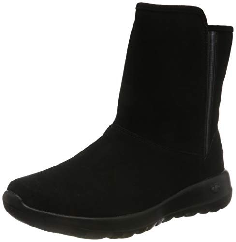 Skechers On-the- Go Joy, Damen Hohe Stiefel, (Black Suede Bbk), 37 EU (4 UK)