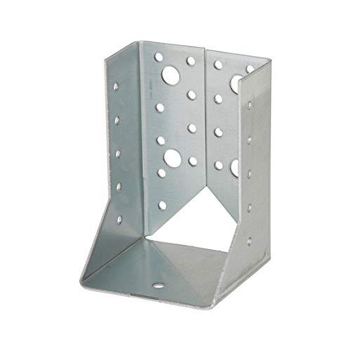 Balkenschuh mit innen - Laschen verzinkt Holzverbinder (80x120x2,0)