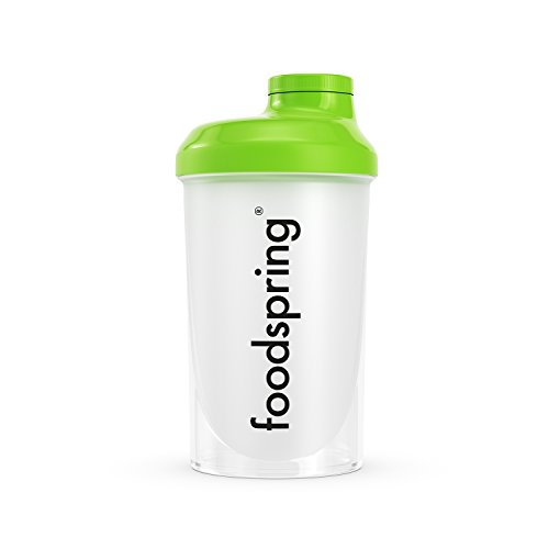 foodspring Eiweiß Shaker, 500ml, BPA-frei, einfache Reinigung