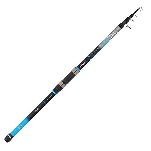 Tubertini Long Wave 2.40 m MAX 150 g Cañas de Pescar Telescópica...