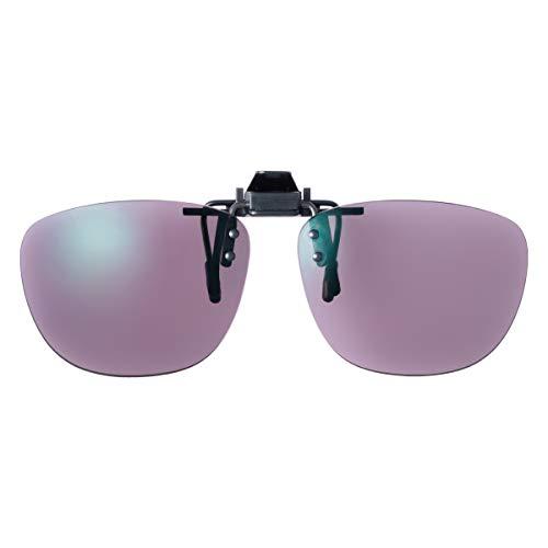 SWANS(スワンズ) 日本製 偏光 サングラス メガネにつける クリップオン 跳ね上げタイプ CP-1000P_PROSK PROSK 偏光ULTRAローズスモーク