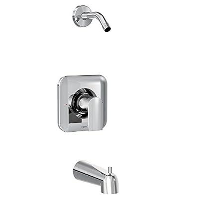 Moen T2473NH, Genta Posi-Temp One-Handle Tub/Shower Trim Valve Without Showerhead, Chrome