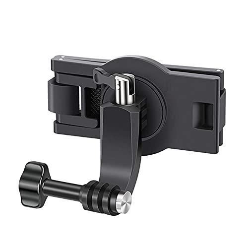 360 Dedree Rotante Zaino Mount Compatibile Con GoPro Hero 9/8/7 Per Insta360 E Altre Telecamere di Azione