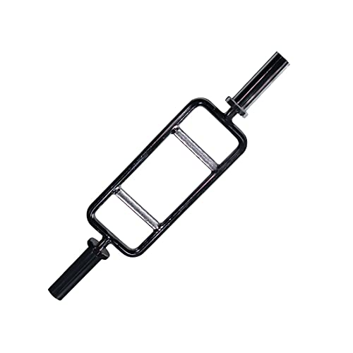 Titan Fitness 34' Barbell Solid Olympic Chrome Tricep Hammer Curl Weight Bar