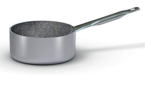 BALLARINI b53t69 Casserole, 1 Manche, ø 24 cm, Professionnelle Induction Granite