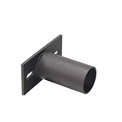 KCCCT Slip Fitter Adaptor, Transform The Slip Fitter into Arm Mounting, Tenon Adapter for Outdoor Flood Lights, Parking Lot Lights, Shoebox Light Fixture