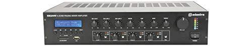 Adastra mixer versterker met 4 zones Paging