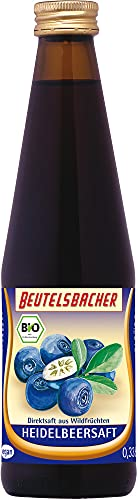 Beutelsbacher Bio Heidelbeer Muttersaft (6 x 330 ml)
