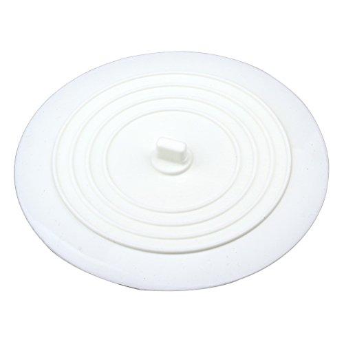 Tapón de drenaje de 15 cm, tapón de silicona para bañera, tapón de drenaje blanco para cocinas, baños y lavandería.