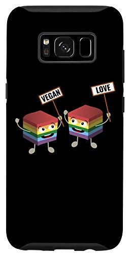 Galaxy S8 Pride LGBT Gay Lesbian Vegan Tofu Homosexual Love Vegetarian Case