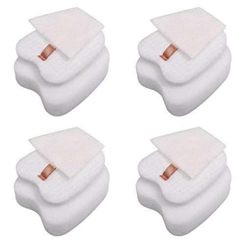 Cxnply Post-Motor Filter and Foam & Felt Filter Kit Replacement for Shark Rocket HV320 HV321 HV322 HV345 UV330 ZS351 ZS352 Stick Vacuums.Replaces Part # 1084FTV320 and XPMFK320. (4 Pack)