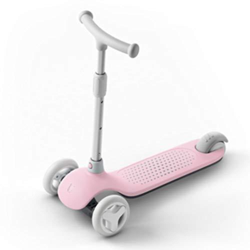 YCXTY Scooter para niños para yoyo de 3 Ruedas Scooter de Pedal de Coche de Juguete para bebés de 3 a 6 años portátil (Color : A)