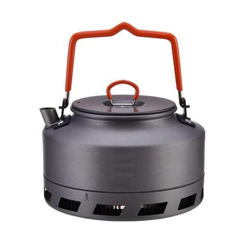 Al aire libre Camping Kettle Coffee Tea Pot Ultralight Camp Equipment 1L