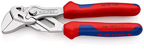 KNIPEX Zangenschlüssel Zange und Schraubenschlüssel in einem Werkzeug (150 mm) 86 05 150