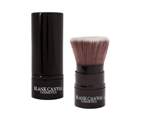 Blank Canvas Rf20 - Brocha para maquillaje (retráctil, tamaño pequeño), color negro brillante