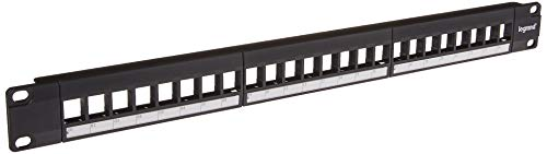 Legrand, Home Office & Theater, Patch Panel, Keystone Patch Panel, 24...