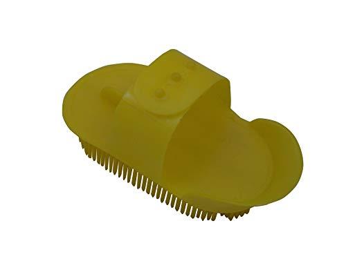 Trilanco Bitz-Pettine in plastica per Curry Unisex-Adulto, Giallo, S
