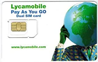 Have one to sell? Sell now Lycamobile SIM CARD(Nano,Micro&Standard) $29 monthly Plan included