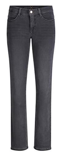 MAC Damen Straight Leg Jeanshose Dream, Grau (Dark Grey Used Wash D975), W38/L30