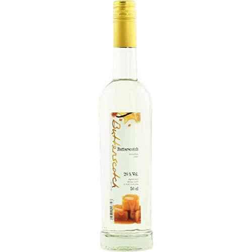 Butterscotch Likör Toffee Karamel-Likör BARRIQUE-Destillate und Liköre Normandie Frankreich 500ml-Fl