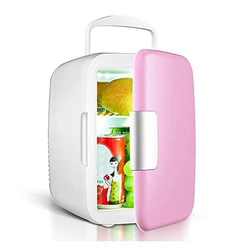 Congelador portátil para automóvil de 4L, refrigerador para automóvil, calentador de enfriador de 12 V, piezas universales para vehículos, almacenamiento de maquillaje, enfriador y calentador