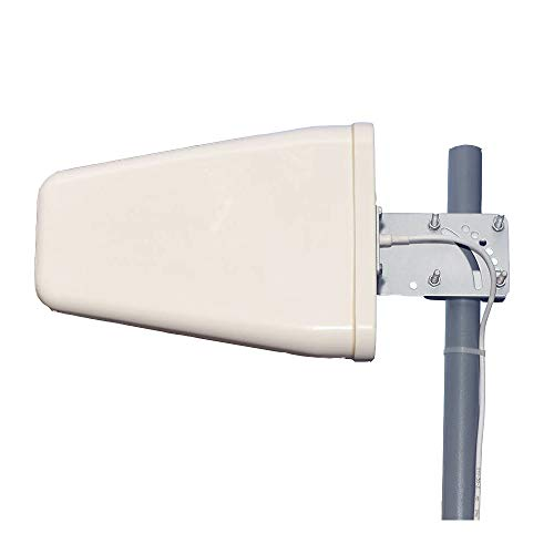 Wideband Directional Antenna 700-2700 MHz,11 dBi Yagi High Gain 3G/4G/ LTE/Wi-Fi Universal Fixed Mount Directional Antenna for Wilson Cellphone Amplifier/Cellular Signalbooster with N Female Connector