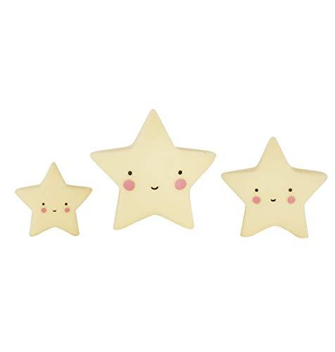 A Little Lovely Company Mini Étoiles Jaune