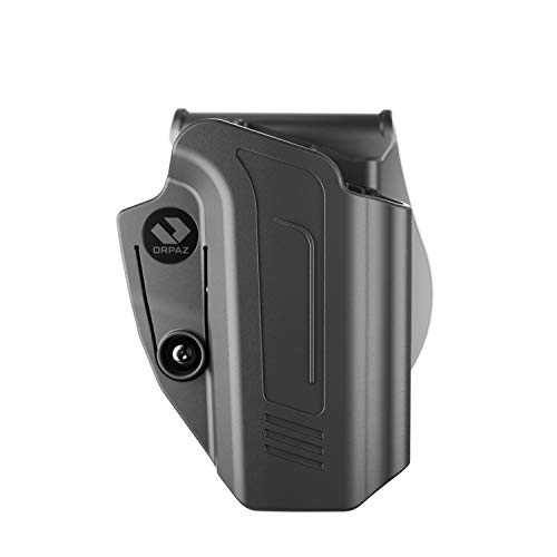 Orpaz PPQ Holster Compatible with Walther PPQ Holster, Right-Hand Modular OWB Holster (Level I Retention, Paddle Holster)