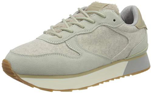 camel active Damen Fog Sneaker, Sand, 42 EU