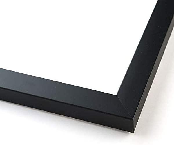 27x39 黑色木质相框,带丙烯酸正面和泡沫板背衬