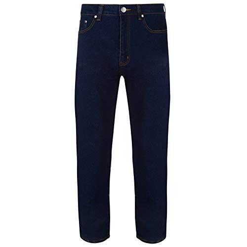 Fenside Country Clothing - Jeans da uomo, taglie forti, elasticizzati, alla moda, 40-60, in tre colori Indaco 64