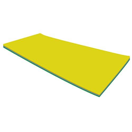 Colchoneta flotante XPE, resistente a desgarros, para tomar el sol, deportes acuáticos, picnics, 170 x 55 x 2,2 cm