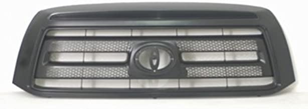 New Front Grille For 2010-2013 Toyota Tundra Pickup Black With Black Insert, Except Limited Models TO1200345
