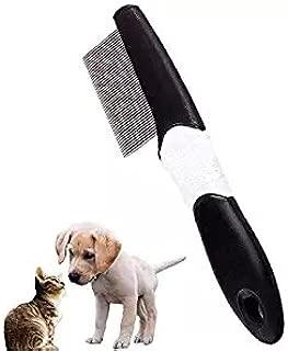 Peine para Quitar piojos de Perro DaricowathX Peines de Aseo para Mascotas Peine para Eliminar la caspa de pulgas