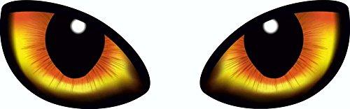 Aufkleber Augen 2er-Set rechts/Links 70 x 190 mm ~ schneller Versand innerhalb 24 Stunden ~