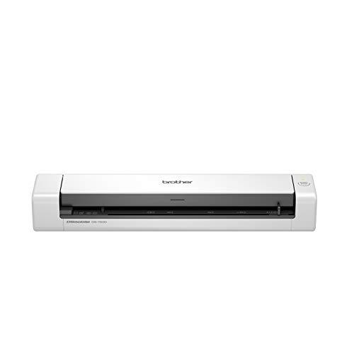 Brother DS-740 Mobiler Scanner | A4 | Vorder- und Rückseite | USB-Netzteil | 15 ppm | Farbe | Schwarz/Weiß | Scan to USB