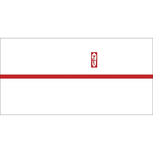 ササガワ OA対応のし紙 熨斗紙 豆判6号 赤棒 京 2-676 1セット 1000枚:100枚×10冊
