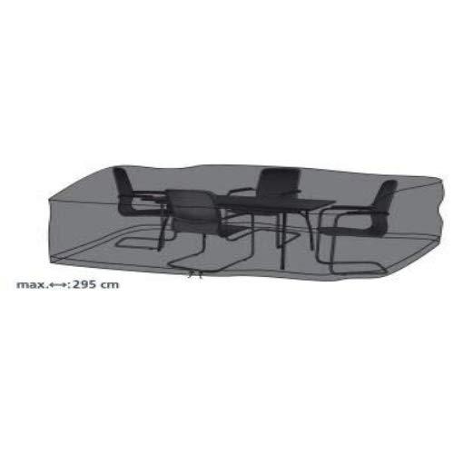 beo 980661 Luxe Housse de Protection pour Table rectangulaire et chaises de Jardin 295 x 210 cm