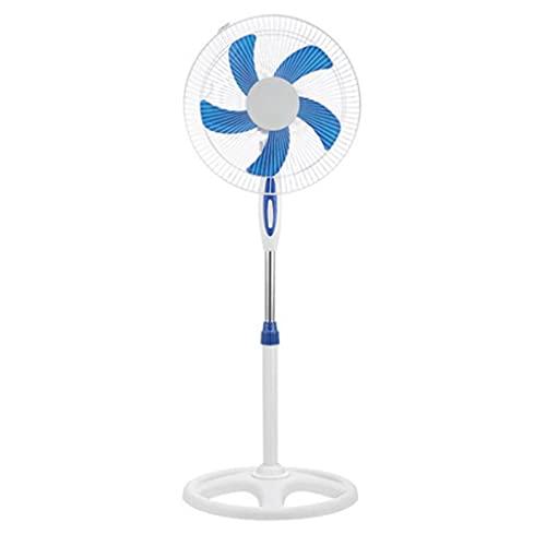 YYDS Ventilador de Pedestal Tranquilo Amplio Oscilando Ventilador con Ventilador de 3 velocidades y Altura Ajustable Base de Volante para el Dormitorio en el hogar (tamaño : 16in)