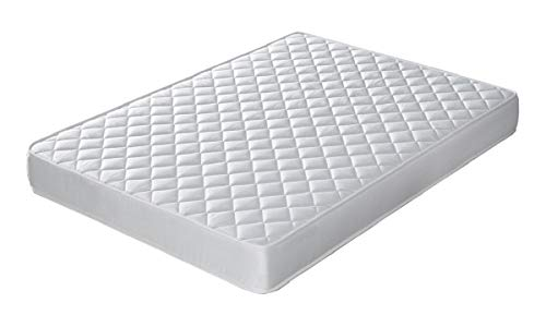 Bellavista Home Mattress Altea 15 cm Thick Memory Foam & Orthopaedic Latex, Perfect Support High Resilience Reversible Two Sided (Winter/Summer)., polyester Latex, 105X190 cm.