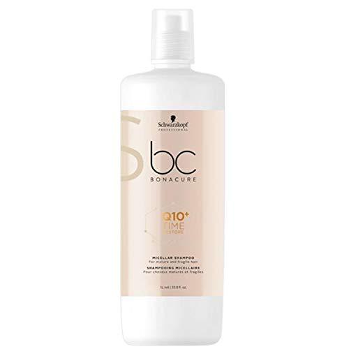 Schwarzkopf Professional BONACURE Q10 Time Restore Ageless Micellar Shampoo, 1 l