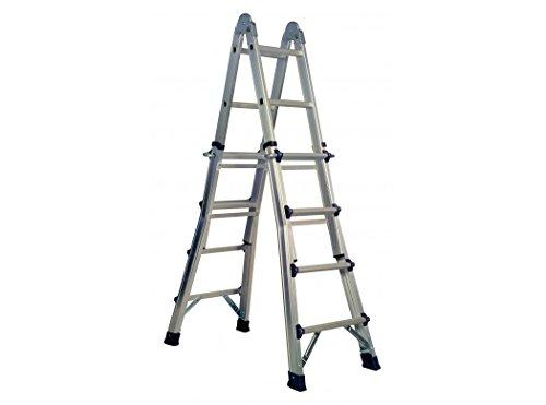 CODIVEN - Escalera Multiuso Aluminio Codiven 2,1-4,15Cm