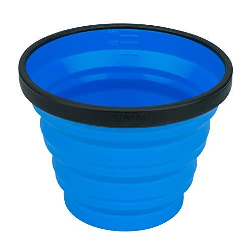 Talla /Única Azul Blue Adultos Unisex SEA TO SUMMIT Silk Stretch Liner-Mummy Saco de Dormir Acampada y Senderismo
